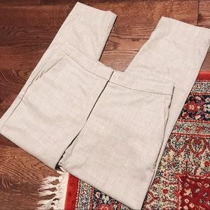 Grey:White Trousers H&M